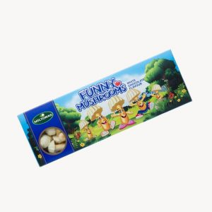 funny mushrooms biscuits white chocolate lithuania