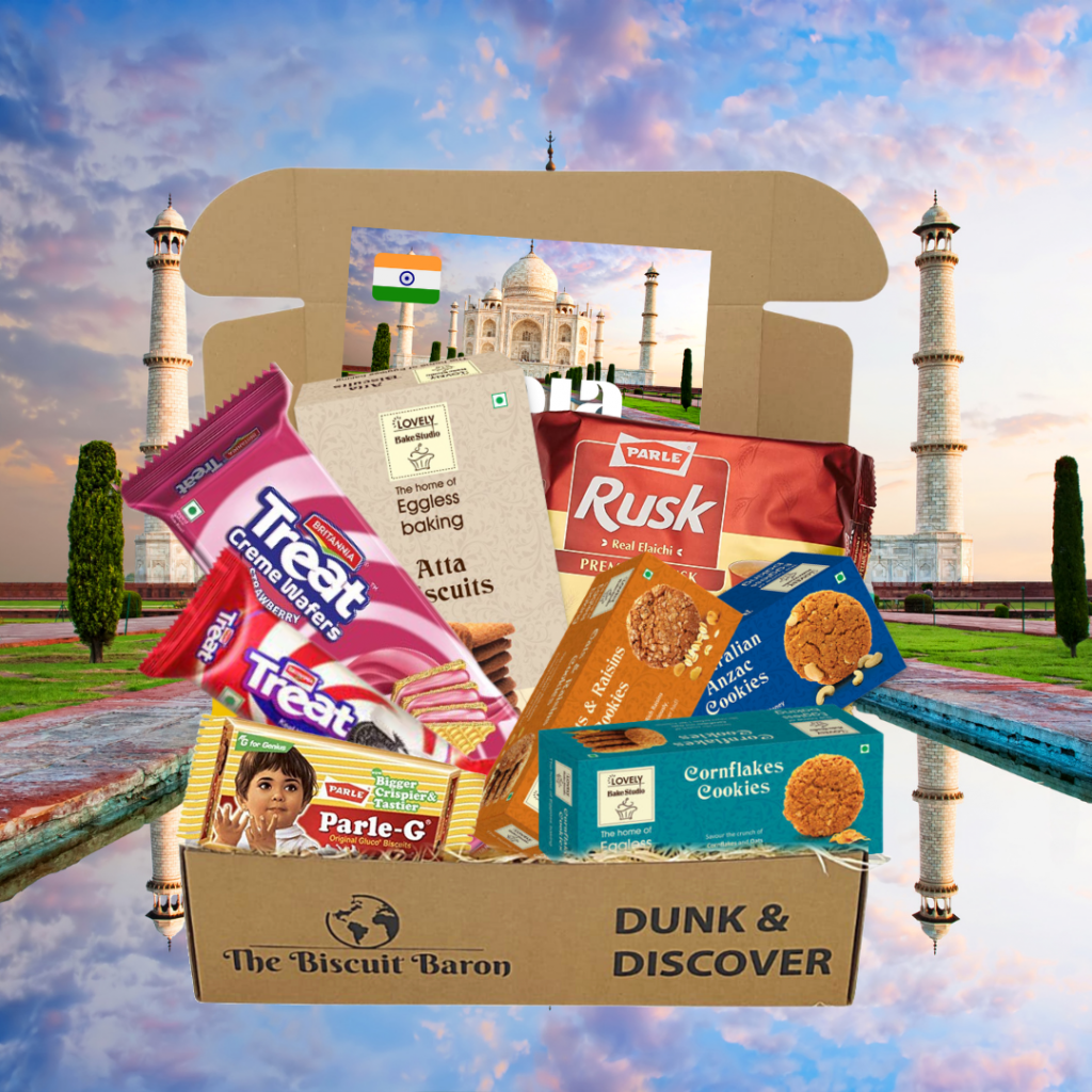 The biscuit baron india indian biscuit box