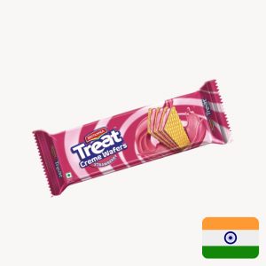 treat cream strawberry wafer the biscuit baron