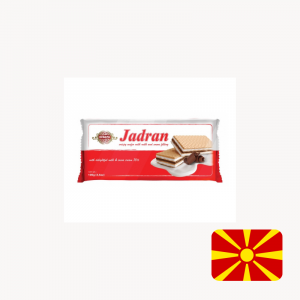 jadran milk and cocoa wafer the biscuit baron north macedonia