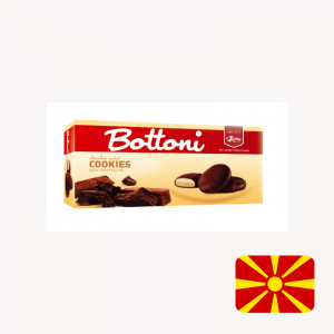 bottoni classic chocolate cream biscuit cookie the biscuit baron north macedonia