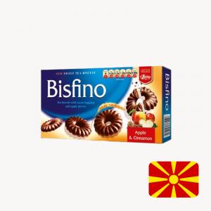 bisfino apple cinnamon chocolate tea biscuit the biscuit baron north Macedonia