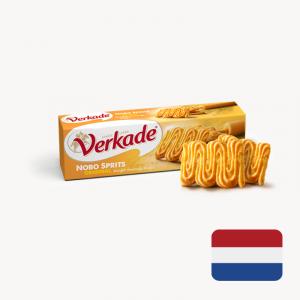 nobo sprits classic butter spritz cookie the biscuit baron verkade the netherlands